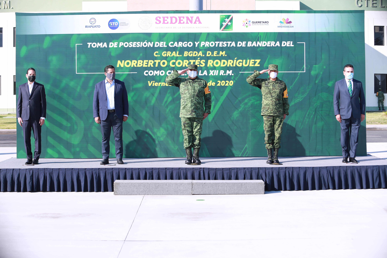 Asume el General Norberto Cortés Rodríguez, Mando de la XII Región Militar. 3