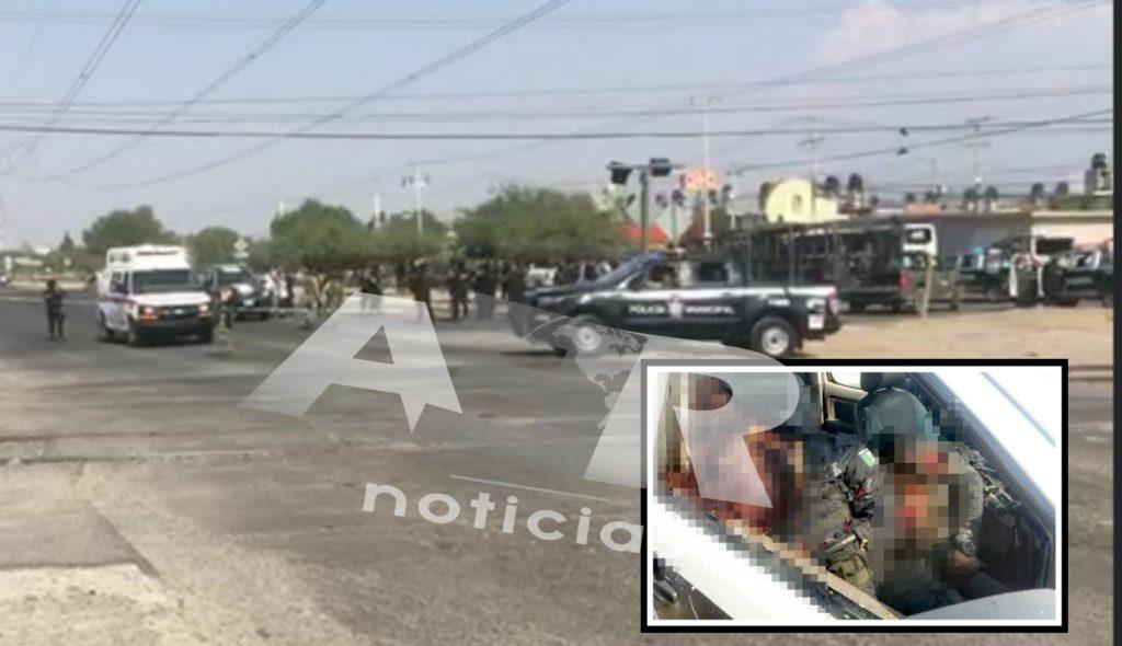 Emboscan y matan a dos policías en Celaya. 2