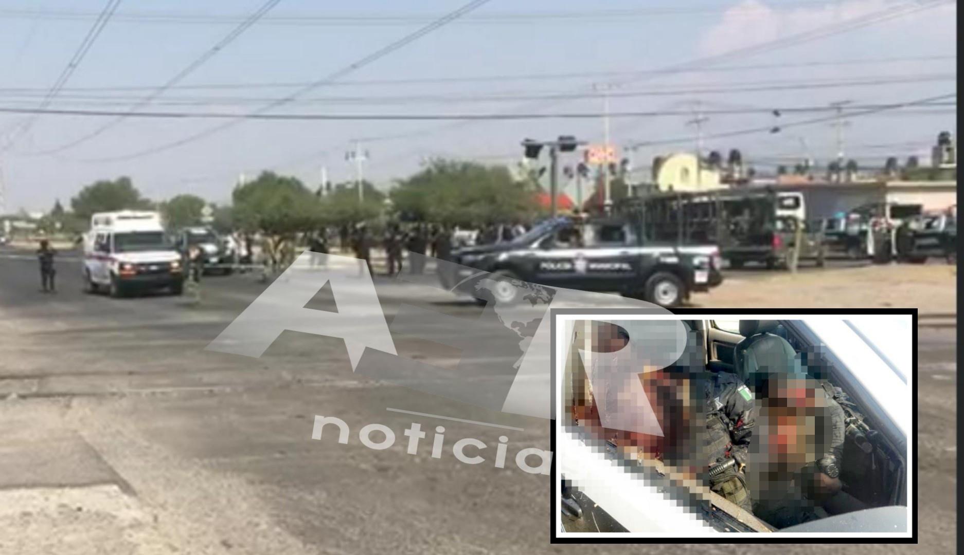 Emboscan y matan a dos policías en Celaya. 3