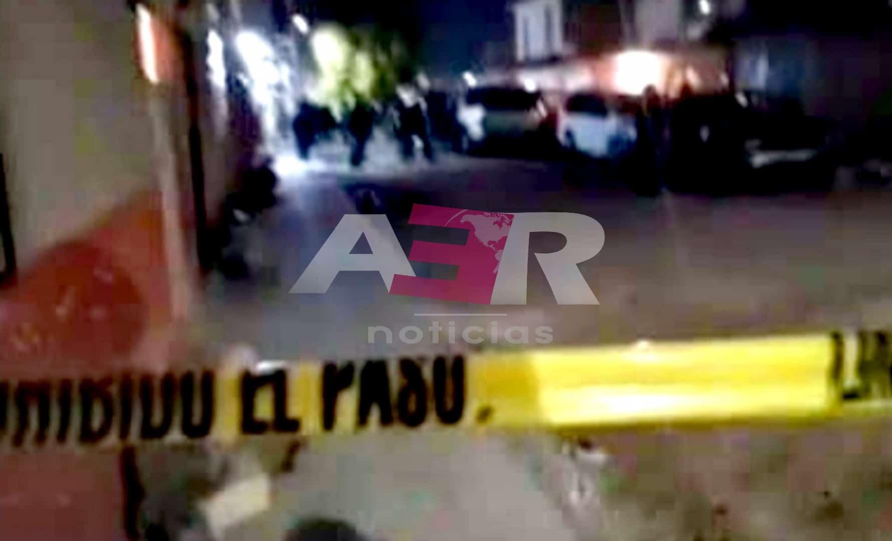Muere hombre baleado ayer en la col. Lucio Cabañas. 1