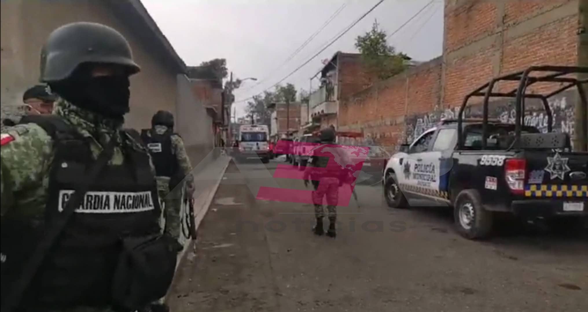 Grave hombre baleado en la colonia Plan Guanajuato. 1