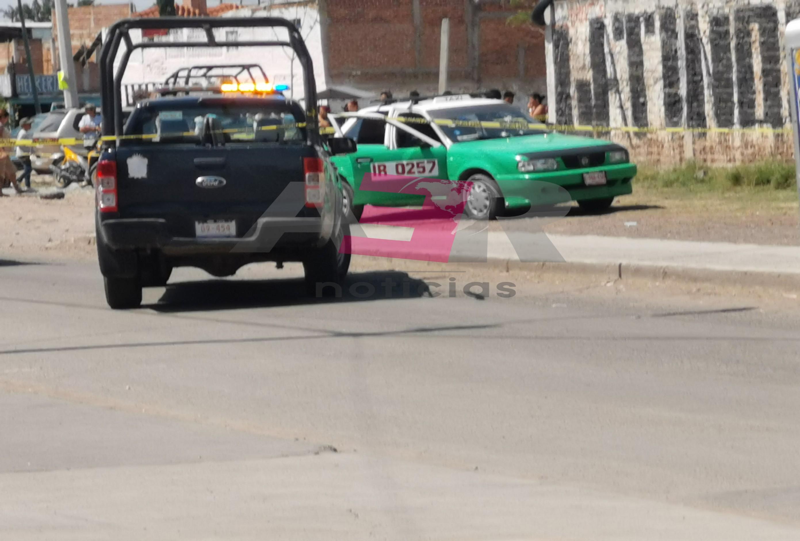 Persiguen y ejecutan a taxista en la calle 2 de Abril. 1