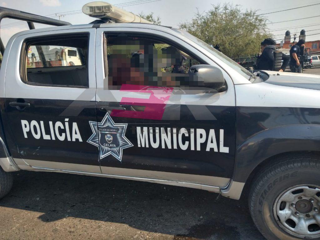CONDENA SECRETARIA DE SEGURIDAD DE CELAYA, COBARDE ATAQUE A DOS ELEMENTOS. 2