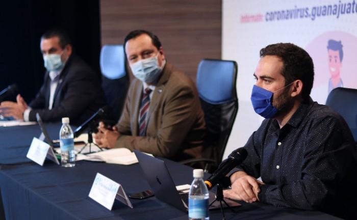 Progresivamente podremos reactivar la economía y salir adelante juntos: Secretario de Salud de Guanajuato. 2