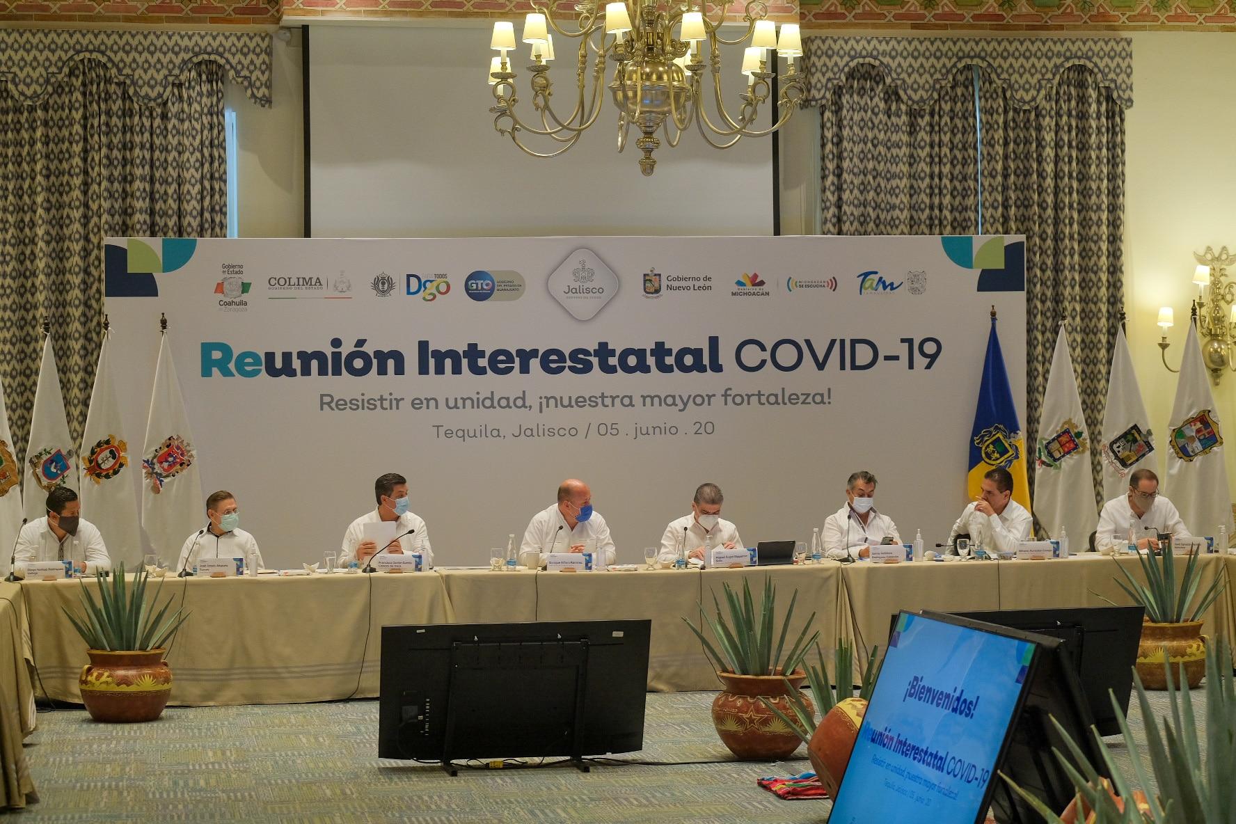 Impulsa Alianza Bajío-Centro-Occidente consensos regionales para la atención de la salud y la reactivación económica del país. 3