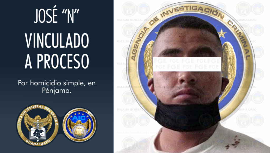 "Vinculan a proceso a José ""N"", imputado en el crimen de un joven a quien decapitó en Pénjamo. 2"