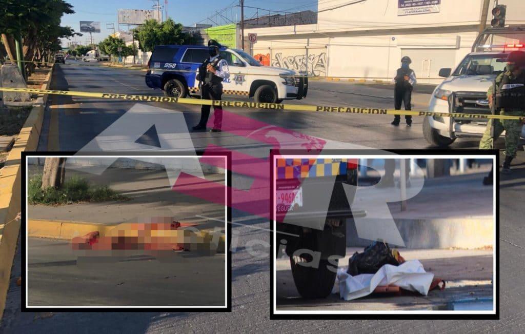Abandonan cuerpo desmembrado en Blvd. Solidaridad a la altura de la Plan Guanajuato. 7