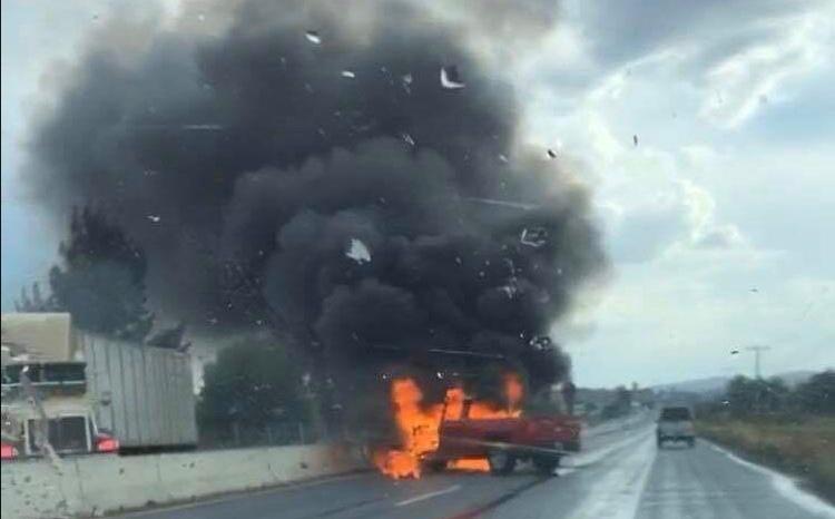 Disturbios e incendios en Celaya y otros municipios de la región Laja-Bajío 1