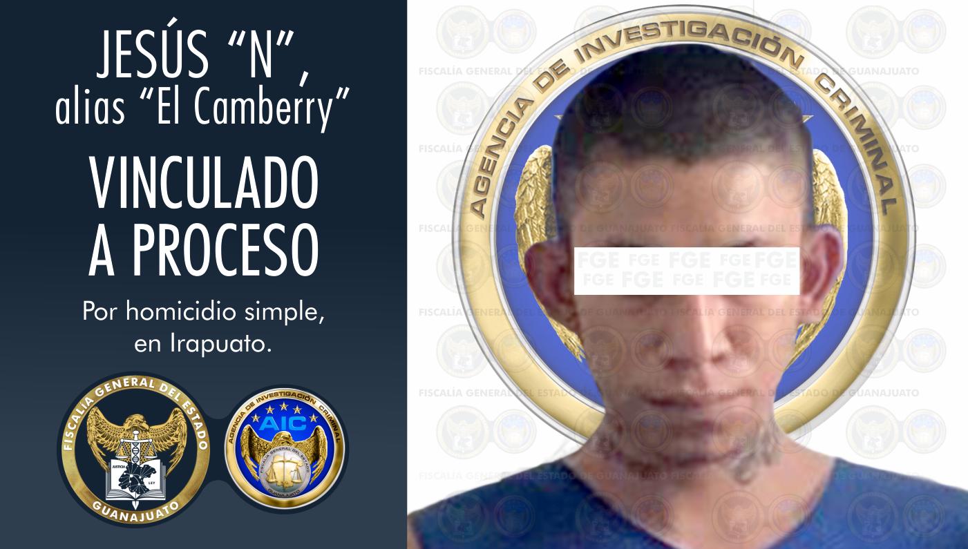 Aprende FGE a segundo involucrado en el homicidio de un menor de edad ocurrido en el Cuarto Cinturón Vial en Irapuato. 1
