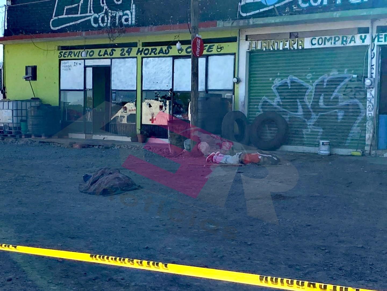 Cinco muertos en ataque a parador en la Silao-San Felipe 1