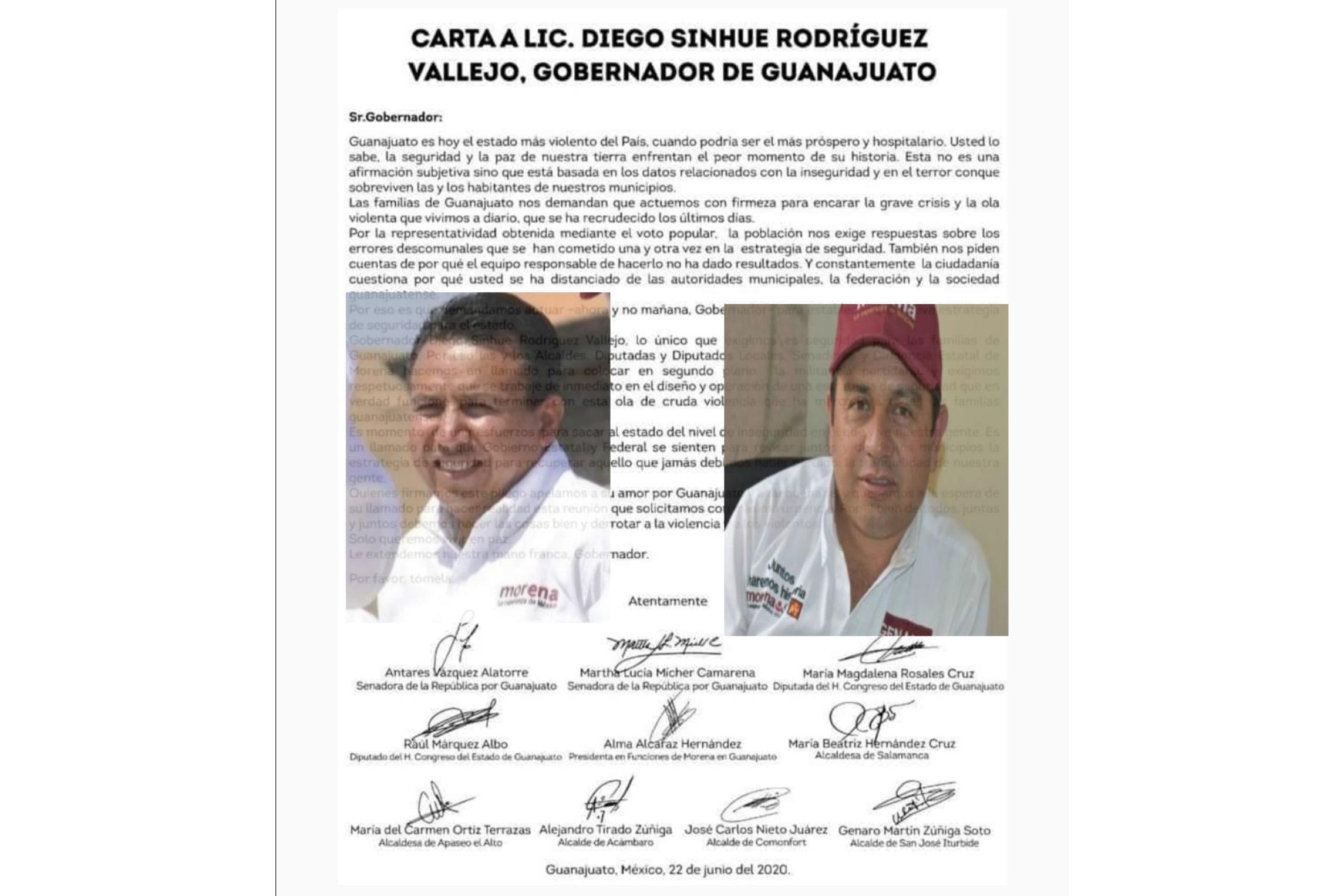 """Alcaldes morenistas """"bajo sospecha"""" exigen más seguridad 1"""