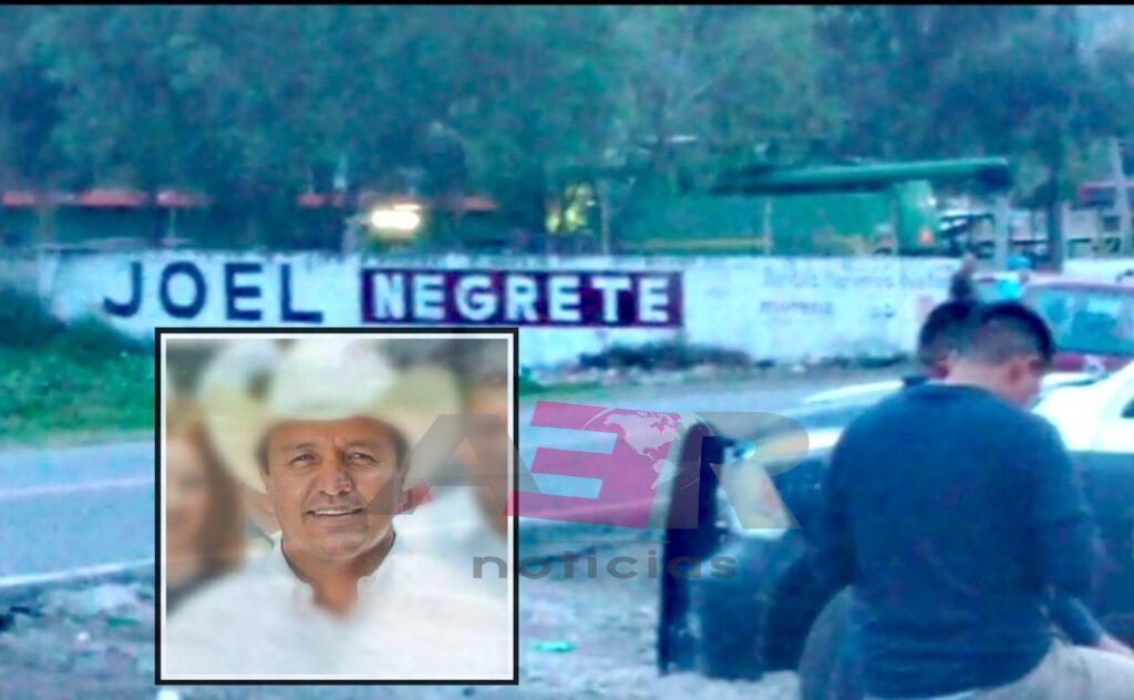 Ejecutan a ex candidato de Morena en Abasolo, Joel Negrete Barrera 2