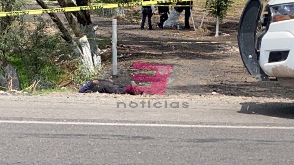 Ejecutan a hombre en la carretera Irapuato-Pueblo Nuevo 7