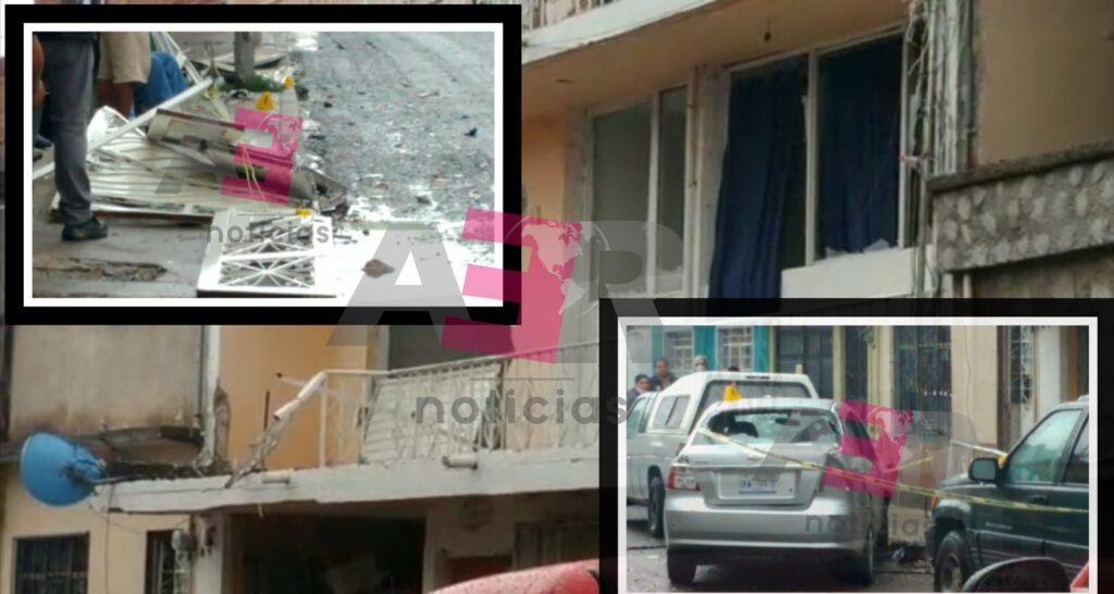 Fuerte explosión en vivienda deja importantes daños materiales y cuatro lesionados 7
