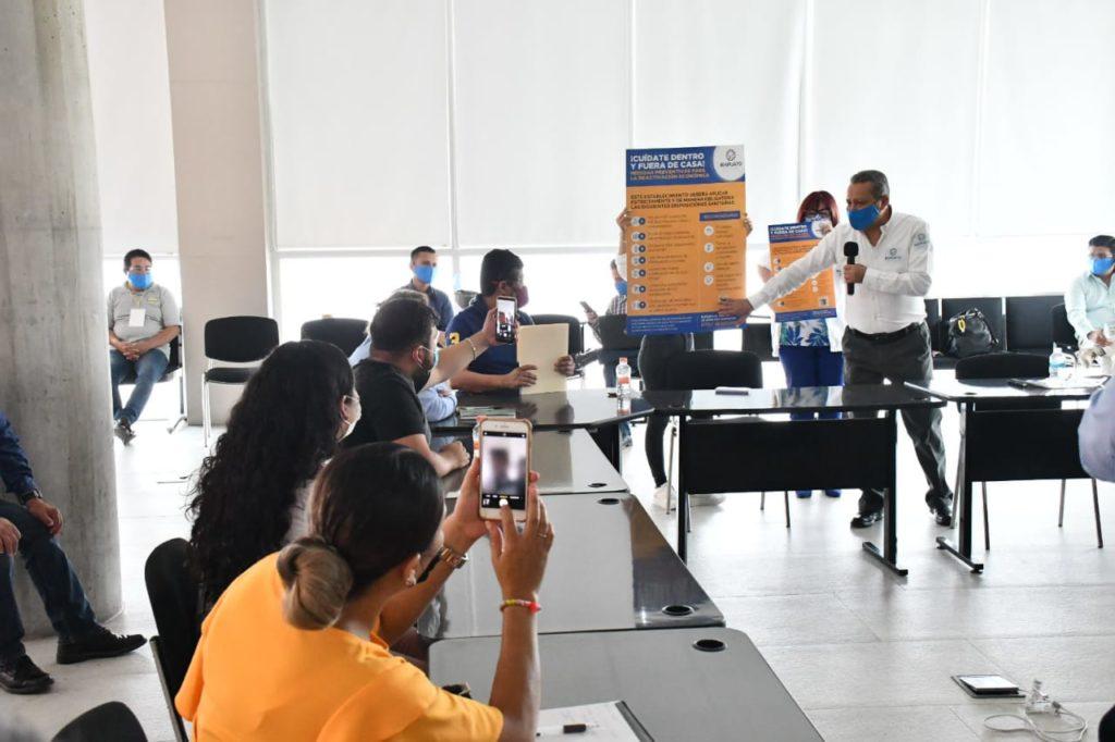 ACUERDAN COMERCIANTES Y AUTORIDADES APERTURA GRADUAL DE ZONA CENTRO 7