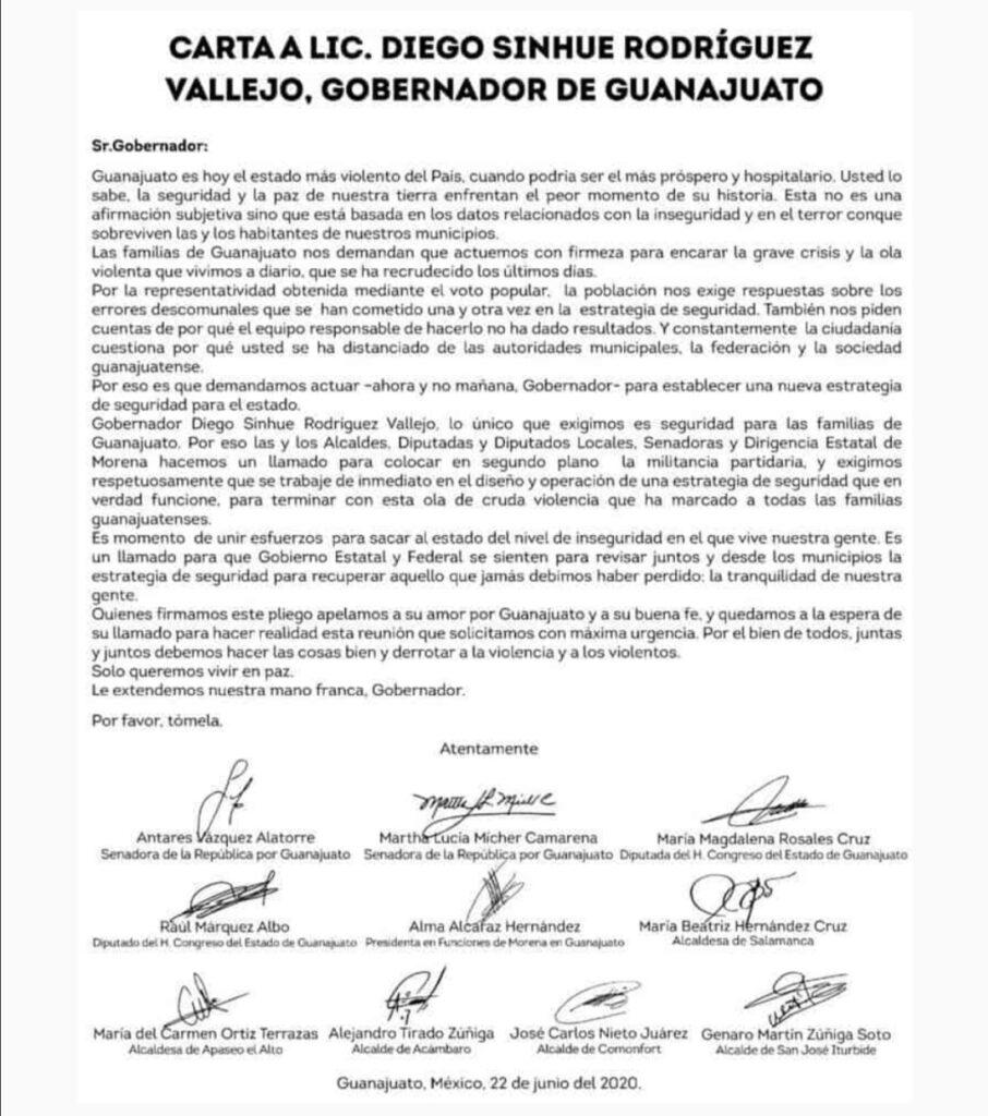 """Alcaldes morenistas """"bajo sospecha"""" exigen más seguridad 4"""