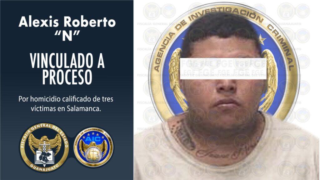 Detienen a inculpado en triple homicidio ocurrido en el panteón de Salamanca. 7
