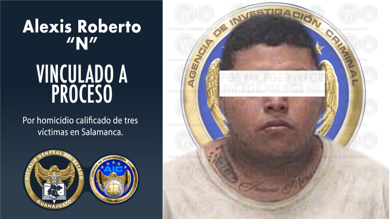 Detienen a inculpado en triple homicidio ocurrido en el panteón de Salamanca. 1