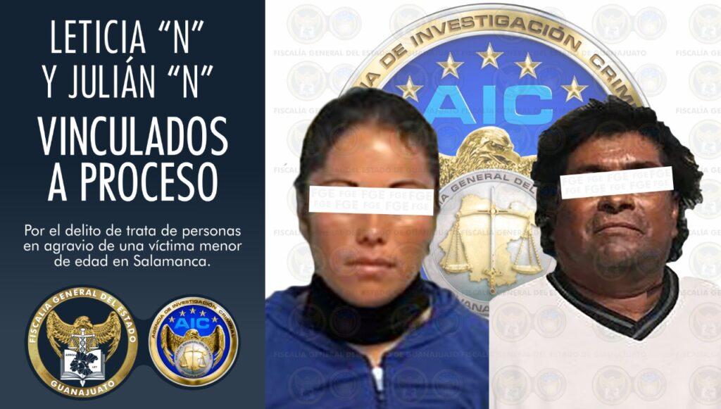Detienen a pareja imputados por trata de personas en agravio de una menor de edad en Salamanca. 7