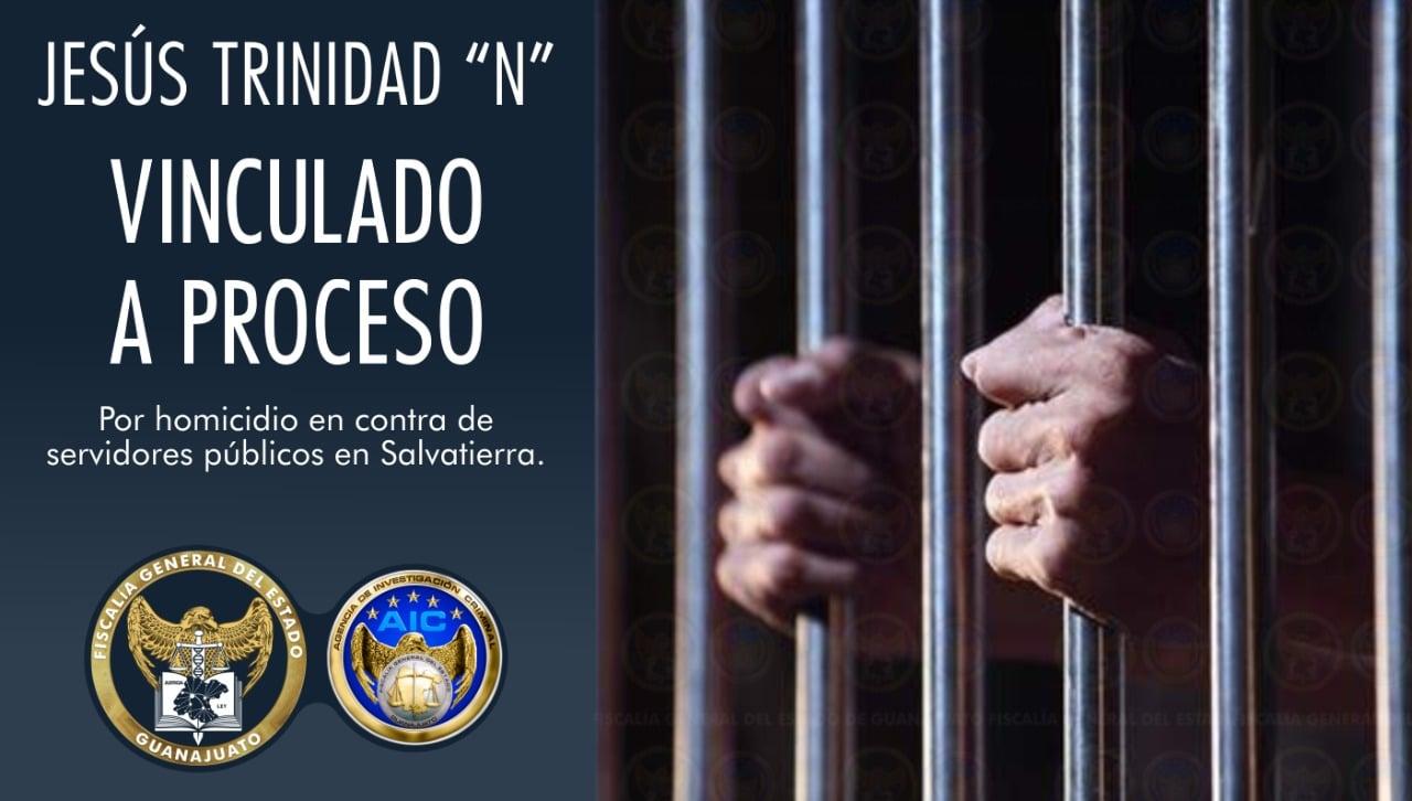 """Vinculan a proceso a José Trinidad """"N"""" por el crimen de un Agente de AIC en Salvatierra. 4"""