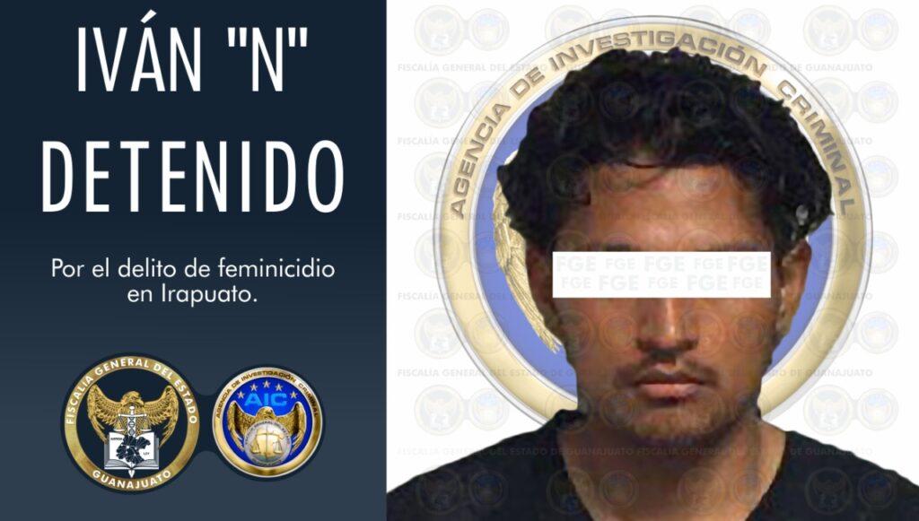 Feminicida de Dulce Guadalupe es detenido por la FGE. 2