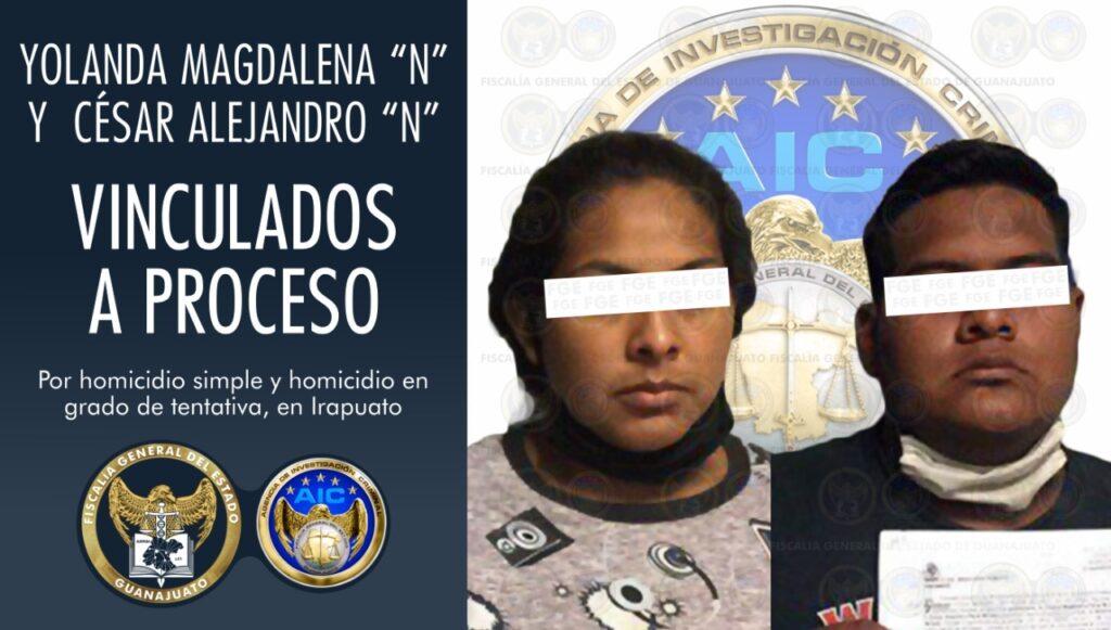 Pareja es detenida en Mexicali y vinculada a proceso por dar muerte a joven y herir a dos más en la Che Guevara. 7