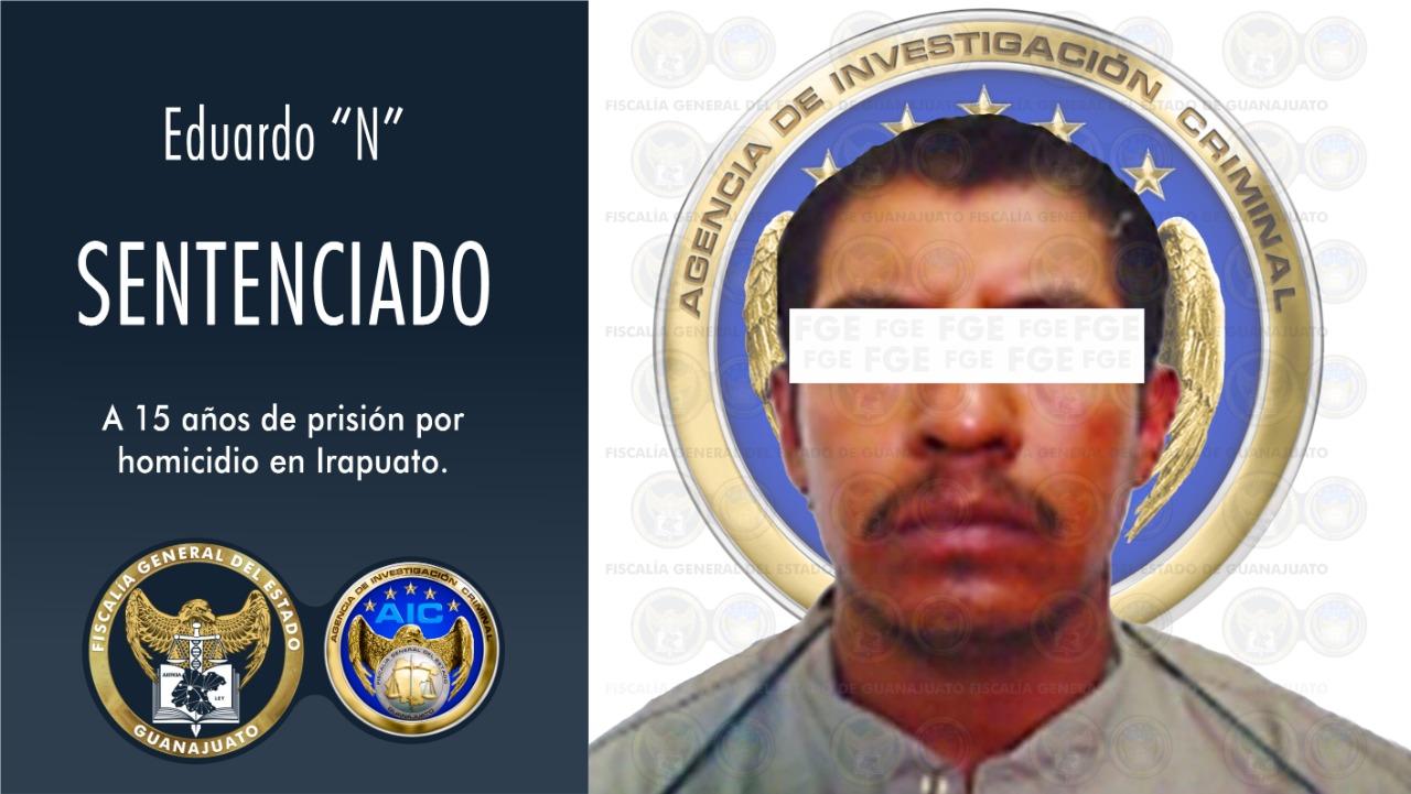 Mató a hombre en fiesta patronal, lo sentencian a 15 años de prisión. 1