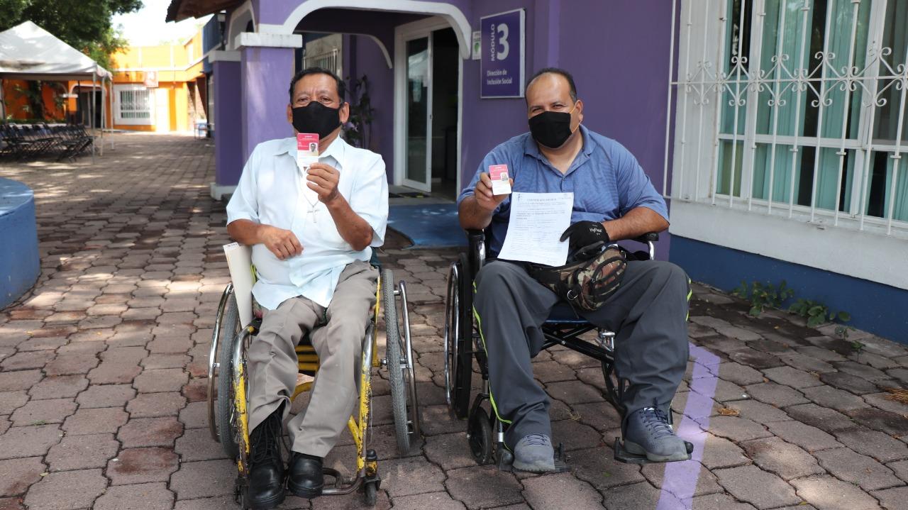 OBTIENEN BENEFICIOS PERSONAS CON DISCAPACIDAD 2