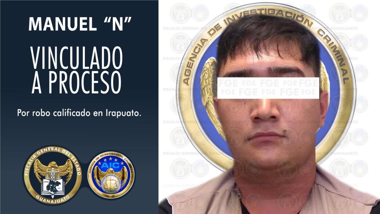 Detienen a imputado por robo con violencia de una camioneta en Irapuato. 1