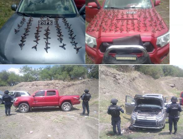 Detienen a 43 personas, detectan 4 tomas clandestinas y 22 mil litros de combustible. 9