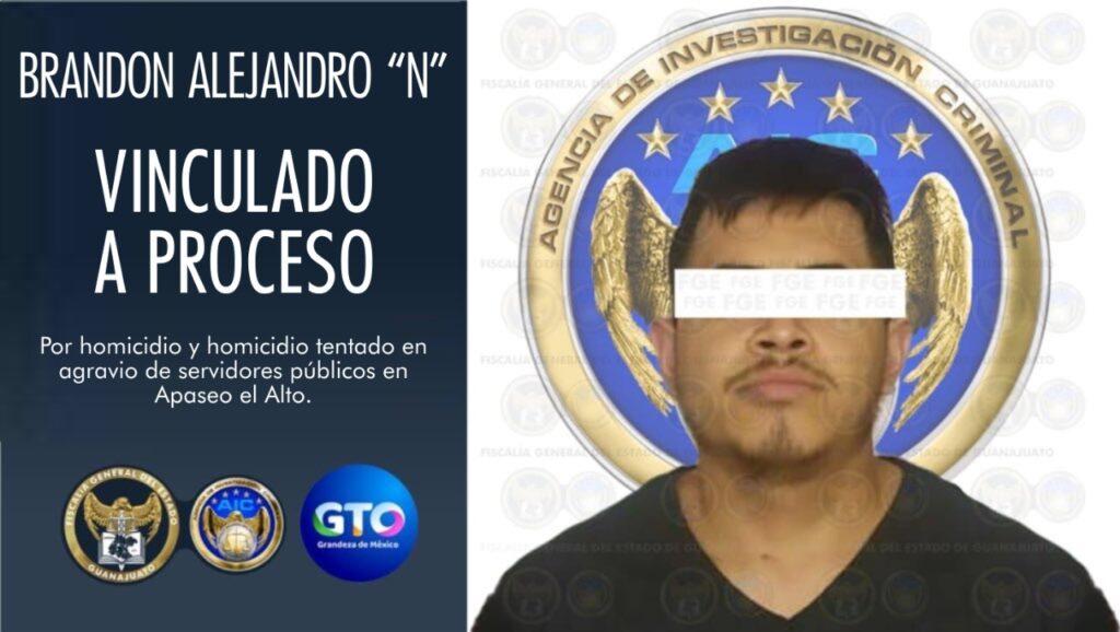 """Vinculan a proceso a """"El Trucha"""" por homicidio de elementos de las FSPE 7"""
