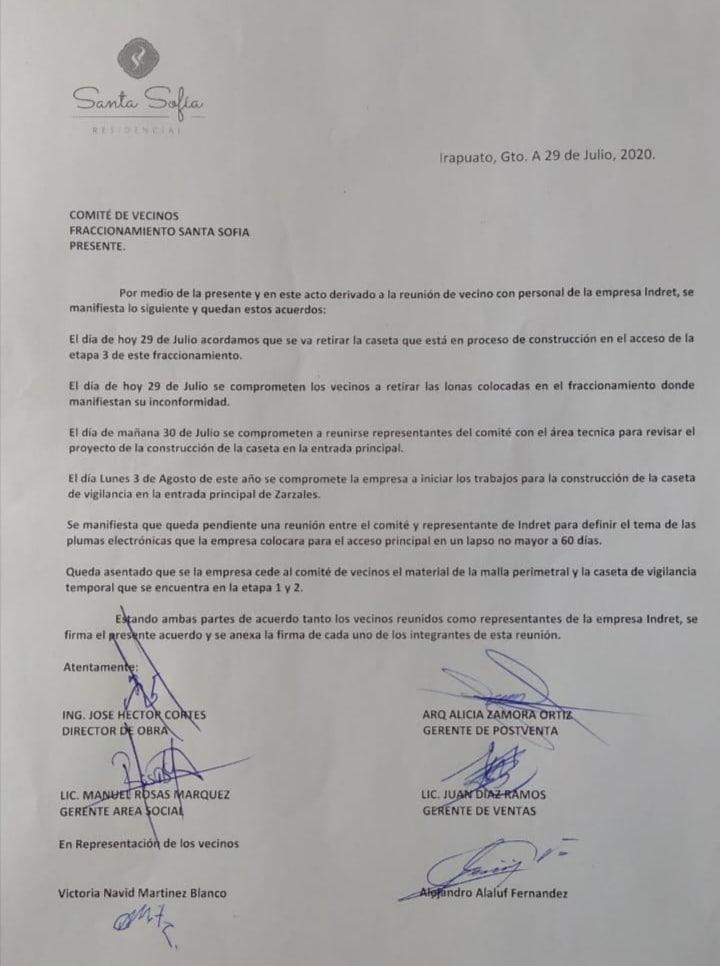 VECINOS DE RESIDENCIAL SANTA SOFIA ACUSAN A INDRET DE VENDER VIVIENDA DE MALA CALIDAD 4