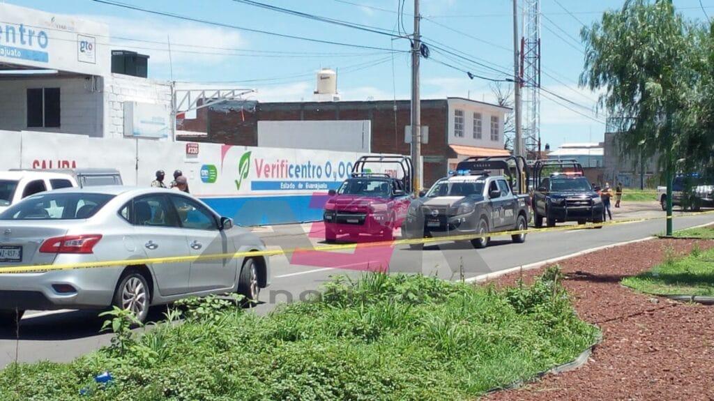 Ataque en verificentro de Celaya, deja tres muertos y dos heridos 7