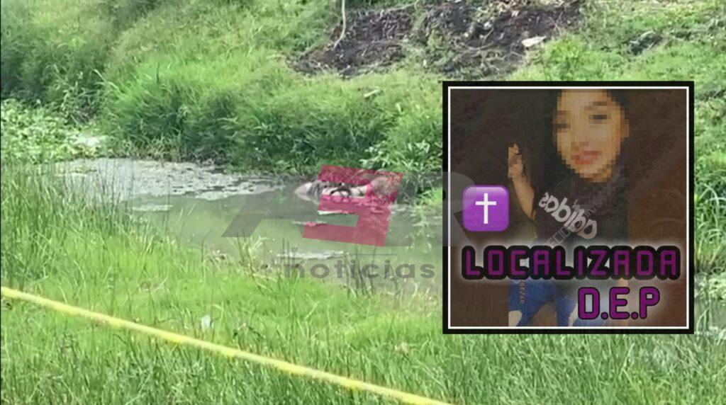 Identifican a joven mujer encontrada en canal de riego, estaba desaparecida desde el viernes. 8