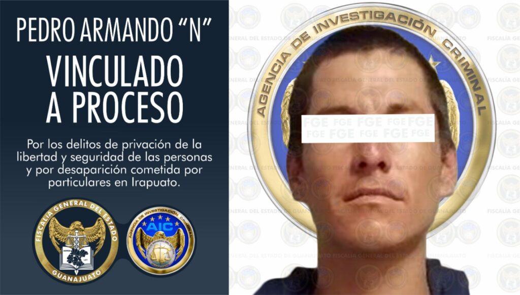 Vinculan a hombre a proceso por privación de la libertad y desaparición de 2 víctimas en Irapuato. 2