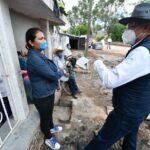 APOYA GOBIERNO A FAMILIAS AFECTADAS EN ALDAMA
