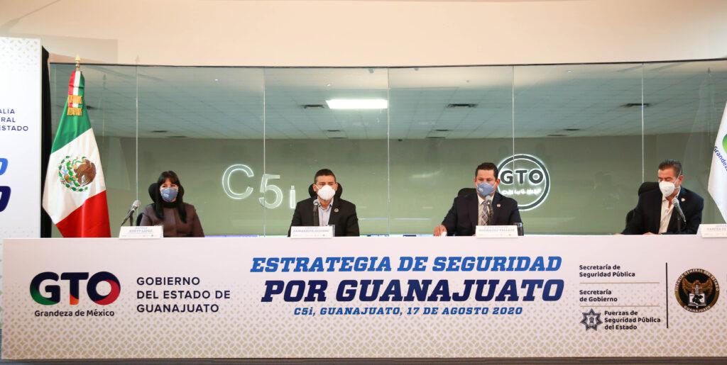 """Arranca estrategia """"Por un Guanajuato Seguro"""", tras concluir """"Golpe de Timón"""" 7"""