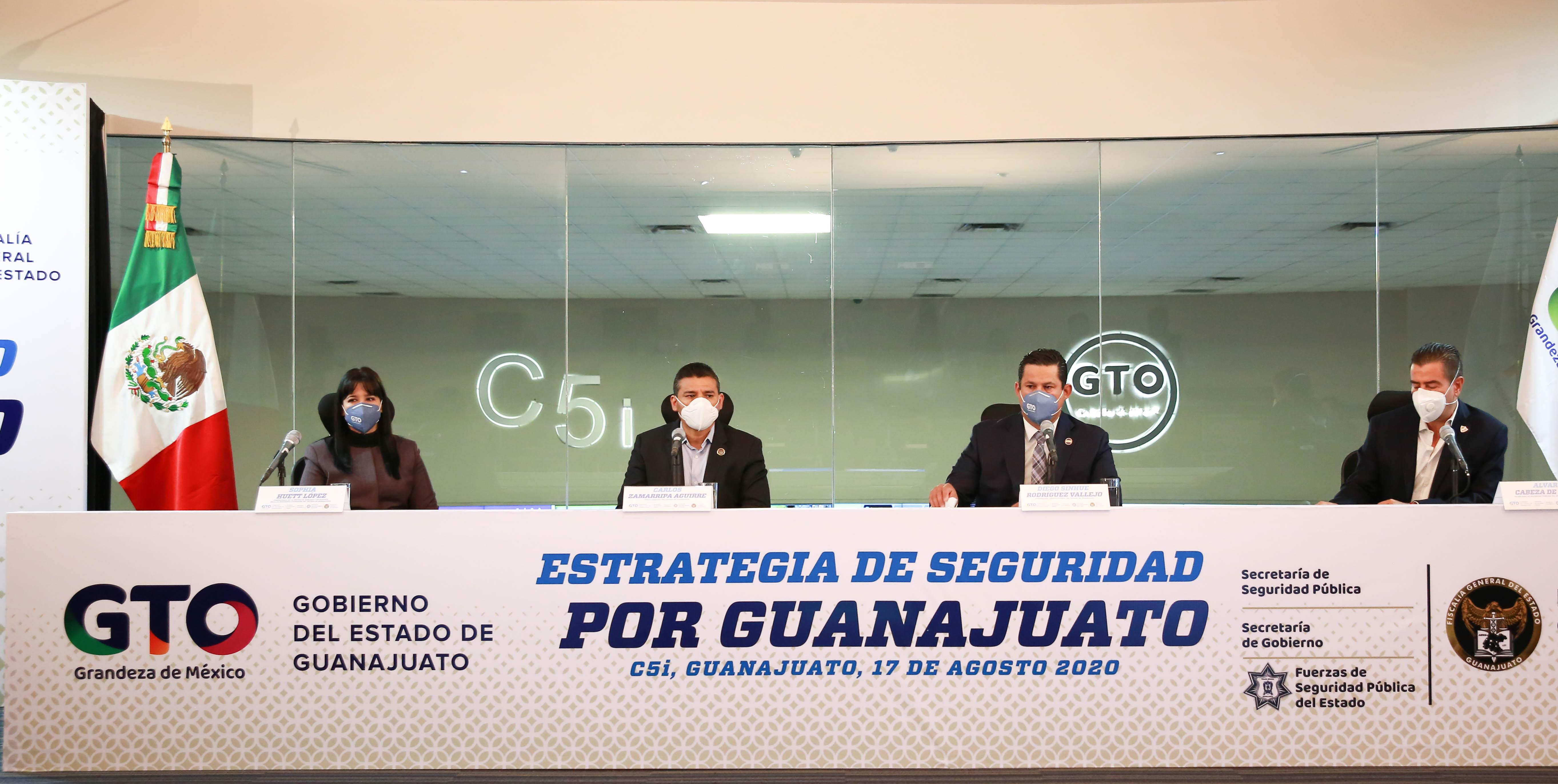 """Arranca estrategia """"Por un Guanajuato Seguro"""", tras concluir """"Golpe de Timón"""" 1"""