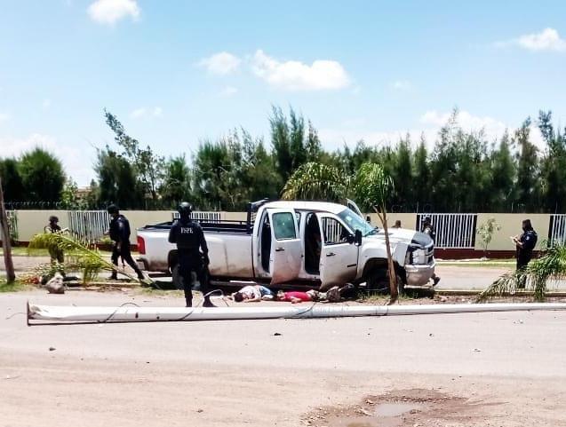 Repelen elementos de las FSPE artera agresión de un grupo de civiles armados, mueren dos. 3