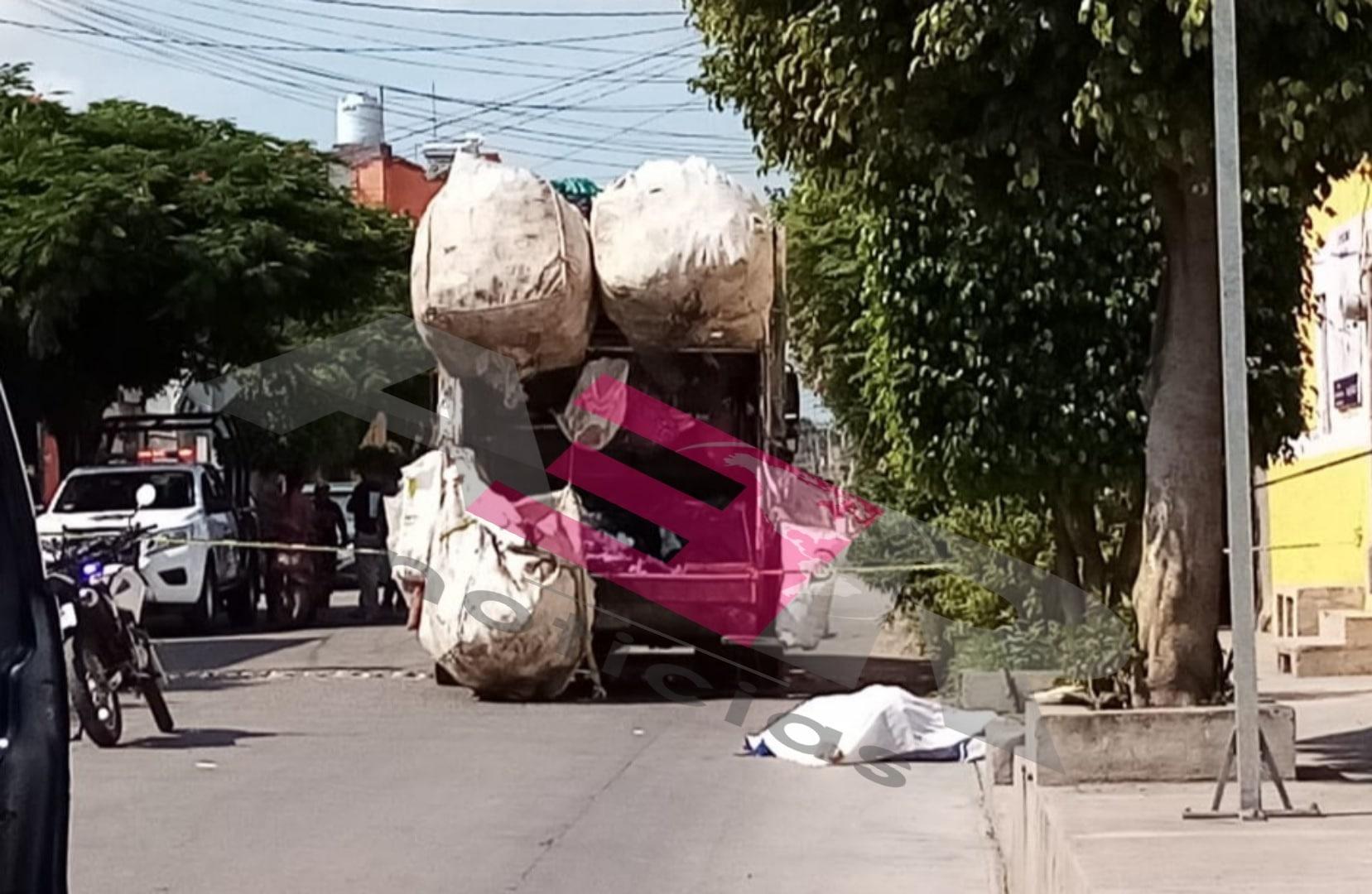 Muere empleado de limpia municipal, aplastado por el propio camión recolector 1