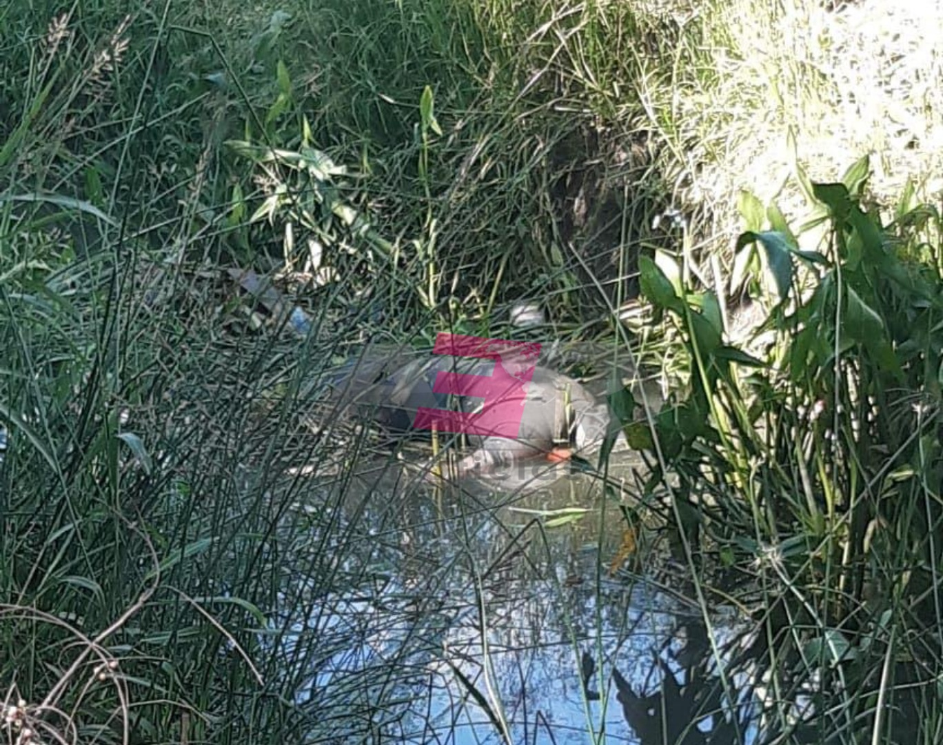 """Localizan cuerpo de hombre en canal de riego en """"La Coyotera"""" 2"""