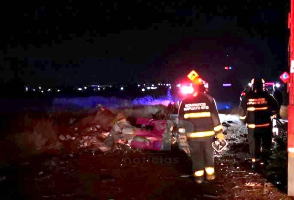 Un muerto y un lesionado en choque entre camiones de carga en el Libramiento Norte 7