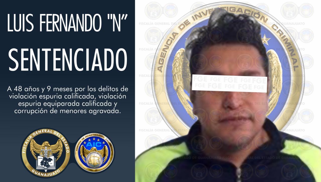 Sentencia de 48 años y 9 meses de prisión, por corrupción de menores y delitos sexuales 3