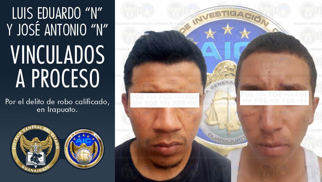 Saquean vivienda en Irapuato y han sido vinculados a proceso por robo calificado 2