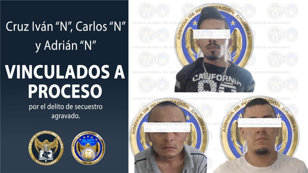 Liberan a dos personas secuestradas en Celaya y detienen a los presuntos responsables. 4