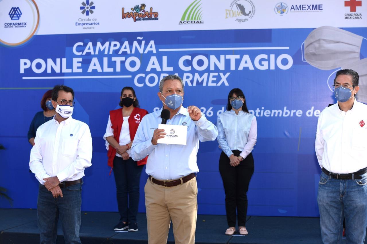 ARRANCA CAMPAÑA DE CONCIENTIZACIÓN 'PONLE ALTO AL CONTAGIO' 1