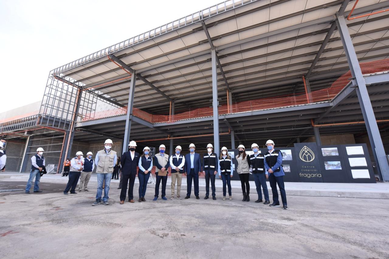 GENERA EMPLEOS Y REACTIVA ECONOMÍA CONSTRUCCIÓN DE PLAZA FRAGARIA 1