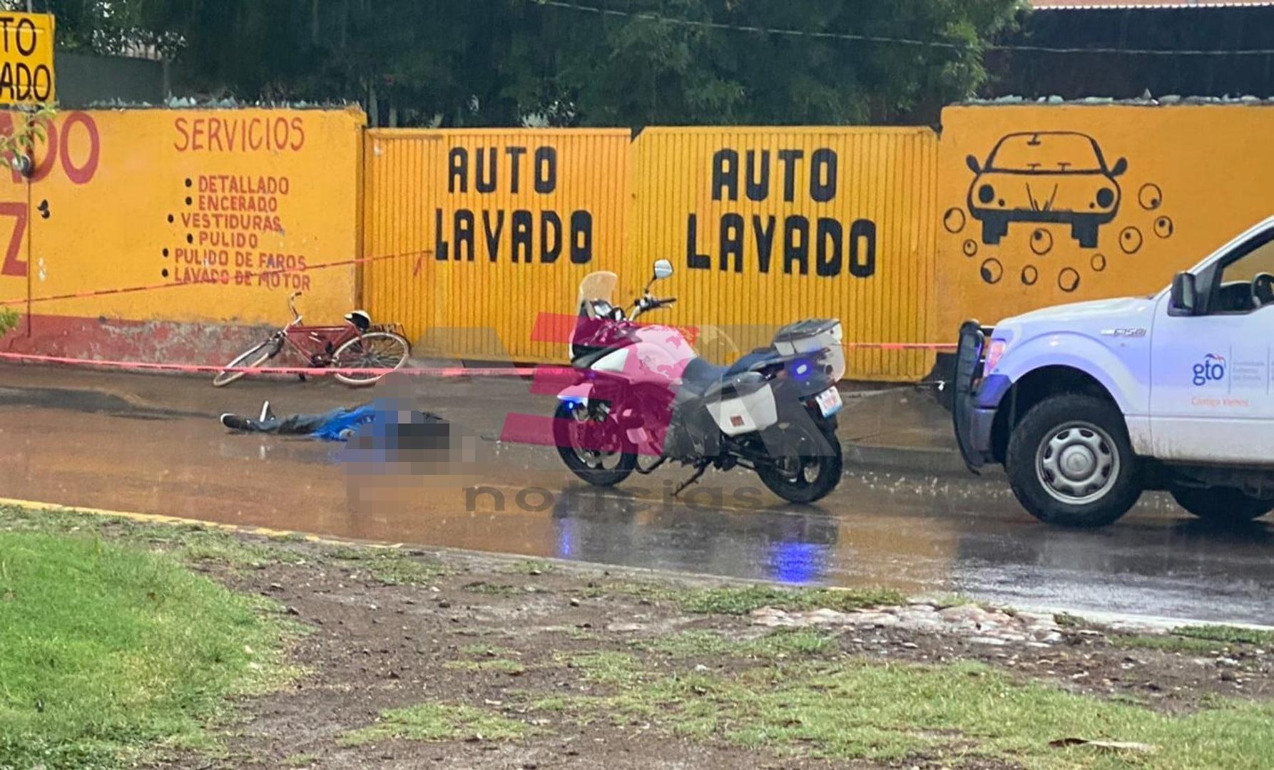 Muere ciclista en el boulevard San Roque. 1