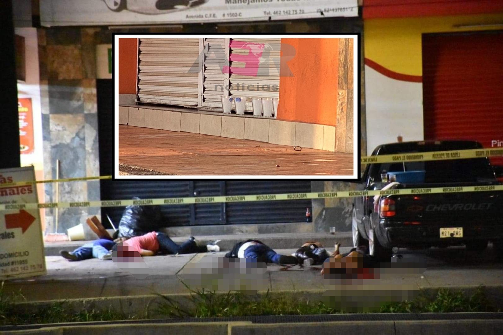 Cinco muertos y un herido en ataque armado en el exterior de taquería 4