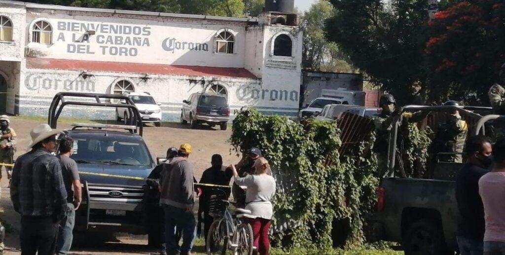 """Comando armado ejecuta a 11 personas en el centro nocturno """"La Cabaña del Toro"""" en Jaral del Progreso 7"""